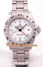 Rolex Explorer II White Face 1