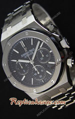 Audemars Piguet Royal Oak Chronograph Black Swiss Watch 10