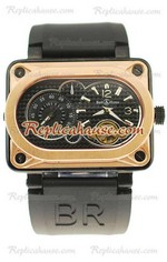 Bell and Ross BR Minuteur Tourbillon Replica Watch 01