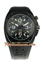 Bell and Ross BR 02 Carbon Replica Watch 04