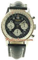 Breitling Navtimer Swiss Two Tone Replica Watch 03