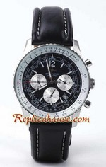Breitling Navitimer Replica Watch Leather 4