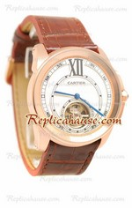 Calibre de Cartier Flying Tourbillon Replica Watch 03
