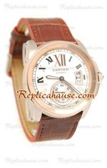 Calibre de Cartier Replica Watch 01
