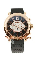 Dewitt Academia Chronograph Sequentiel Mens Replica Watch 02