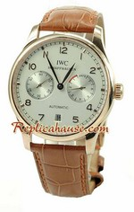 Iwc Porguese Automatic Swiss Watch 01