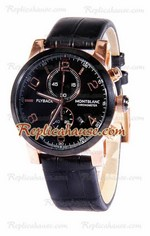 Mont Blanc Classic Flyback Chronograph Replica Watch 02