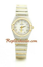 Omega Constellation Swiss Watch - Pure Gold Watch Ladies 20