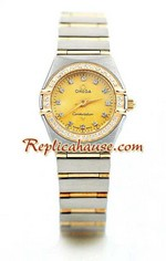 Omega Constellation Swiss Watch - Pure Gold Watch Ladies 10