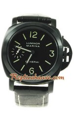 Panerai Replica - Luminor Marina PAm00111 PVD Swiss Watch 01