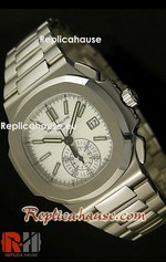 Patek Philippe Nautilus Chronograph Swiss Watch 22