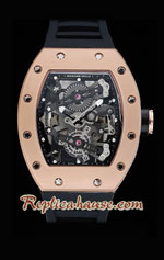 Richard Mille RM038 Tourbillon-Bubba Watson Gold Watchs 2