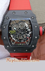 Richard Mille RM035-02 Rafael Nadal Forged Carbon Case Swiss Replica Watch 07