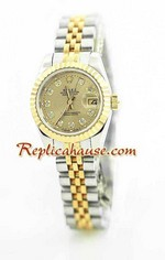 Rolex DateJust Two Tone Ladies - 34