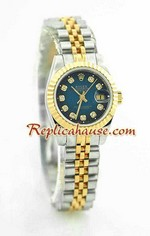 Rolex DateJust Two Tone Ladies - 35