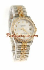 Rolex Replica Datejust Swiss Watch - Boy Size 39<font color=red>������Ǥ���</font>