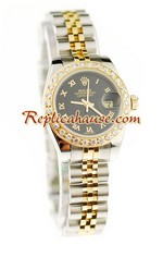 Rolex Datejust Two Tone Ladies Replica Watch 36