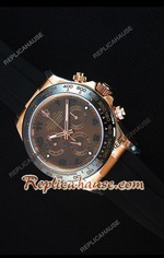 Rolex Daytona Everose Rose Gold Brown Dial Swiss Watch 19