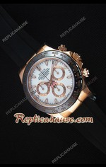 Rolex Daytona Everose White Dial Swiss Watch 21