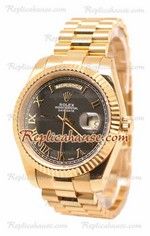Rolex Replica Day Date II Gold Swiss Replica Watch 21