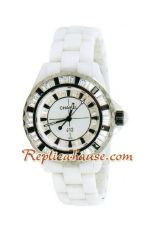 Chanel J12 Jewelry Authentic Ceramic Lady Watch 10