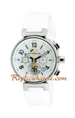 Louis Vuitton Tambour Automatic Chronograph Lady Watch 01