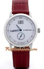 A. Lange & Sohne SAXONIA 1 Replica Watch<font color=red>หมดชั่วคราว</font>