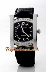 Bvlgari Assioma Leather Replica Watch 2