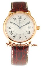 Ronde Cartier Louis Swiss Watch 02