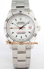 Rolex Datejust Turn O Graph Swiss Watch 3