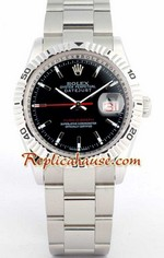 Rolex Datejust Turn O Graph Swiss Watch 4