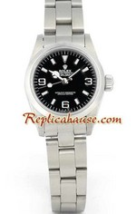 Rolex Explorer Black Face Ladies