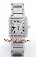 Cartier Tank Francise Swiss - Mens
